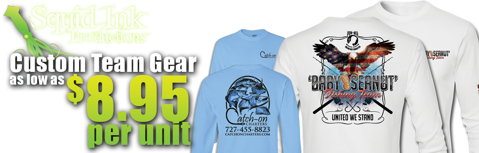 Promote Your Team with Apparel from Squid Ink Productions
